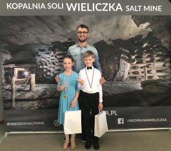 CDC na Turnieju Tańca Towarzyskiego w Wieliczce 16.03.2019 r.