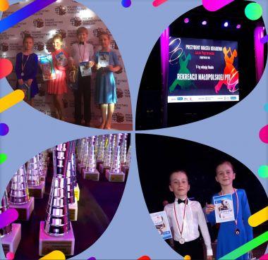 Taniec Towarzyski - Carmen Dance Center na Finałowym turnieju w Krakowie