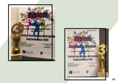 Rozdanie nagród - Roztańczona Metropolia Świętochłowice 2019