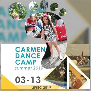 OBÓZ TANECZNY CARMEN DANCE CAMP SUMMER 2019 - 03.07.2019 WYSTARTOWAŁ!!!