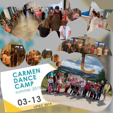 CARMEN DANCE CAMP SUMMER  03-13.07.2019