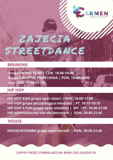 Hiphop, Breaking, Popping, House, Freestyle - Katowice