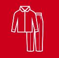 spodnie i koszula