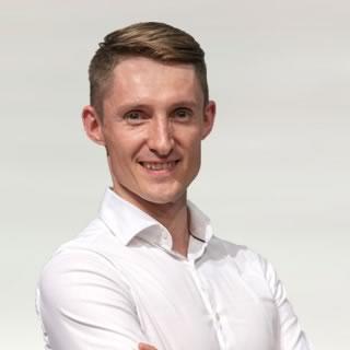 Instruktor tańca Rafał Chmiela